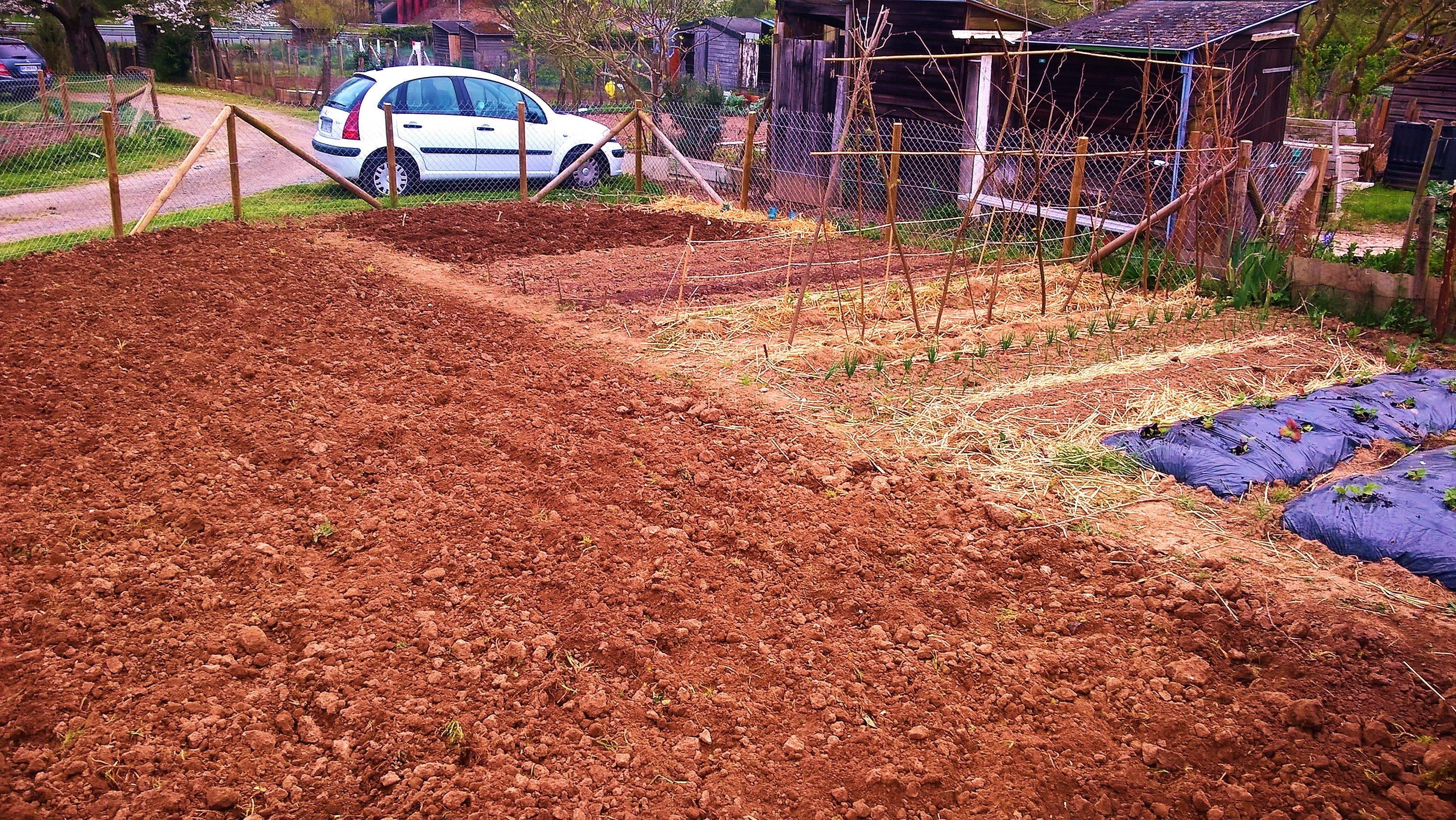 Le terrain est pr t gogwen72 le jardinier for Pret pour terrain seul
